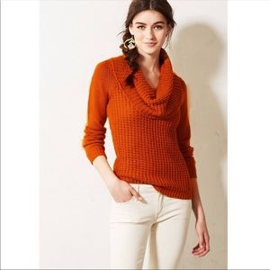 ANTHROPOLOGIE // Angel of the North Cowl Neck